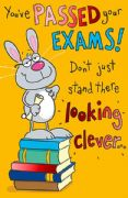 Humorous Passed Your Exams Card